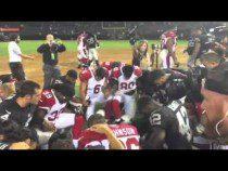 Derek Carr Leads Raiders, Cardinals In Post Game Prayer