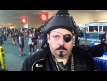 Impressive Pirate Cosplay At Comic-Con #SDCC – Video