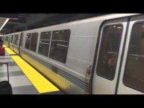 Last SFO Airport BART Train Arrives – Video