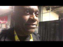 Oakland Coliseum Club Level Corridor Is Narrow #AZvOAK – Video