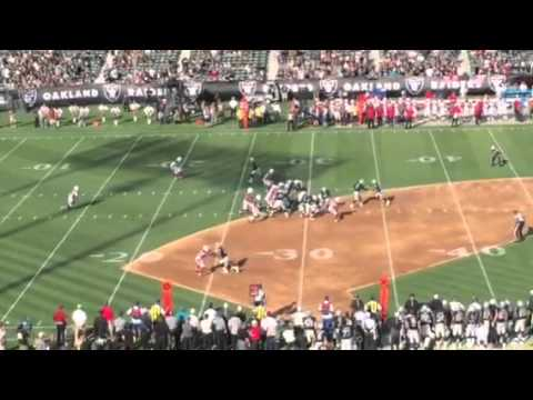 Raiders Murray Stopped For Loss By Cards #AZvOAK – Video