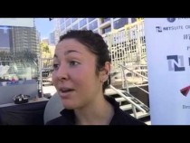 Amanda Sobhy Interview At NetSuite Open Squash SF – Video