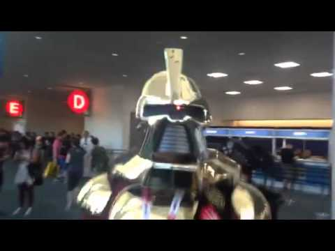 Cylon From Battlestar Galactica Cosplay At Comic Con #SDCC – Video