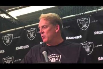Jack Del Rio Interview Oakland Raiders Head Coach #AZvsOAK