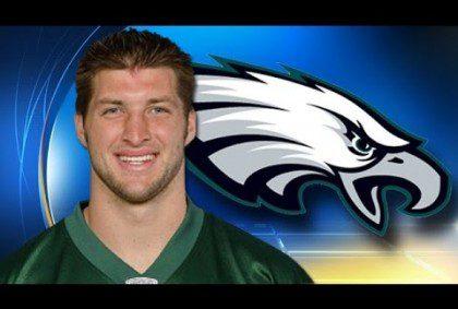 Tim Tebow Is Philadelphia Eagles QB