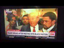 Donald Trump And Black Pastors Meet The Press