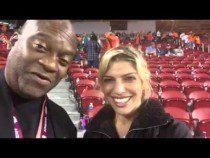Cheryl Cosenza Of CBS Wilde Wedding At Super Bowl 50 #SB50