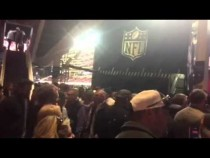 Crowd Of Fans Leaving Super Bowl 50 #SB50 – Video
