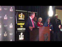 Houston Super Bowl LI Host Committee Presentation #SB51 #SB50 – Video