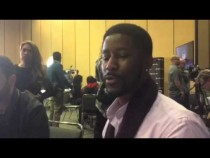 Nate Burleson Picks Carolina Panthers To Win Super Bowl 50 P2 #SB50 – Video