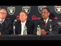 Oakland Raiders Coliseum JPA Press Conference To Announce Lease V1 – Video