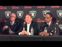 Oakland Raiders Coliseum JPA Press Conference To Announce Lease V2 – Video
