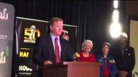 Roger Goodell Praises SF Super Bowl Host Committee #SB50 – Video