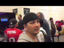Ryan Reynolds Of Deadpool At Super Bowl Radio Row #SB50 – Video