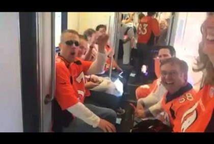 Video Of Broncos Fans Watching Themselves On YouTube #SB50 – Video